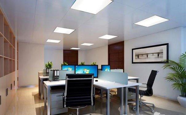 简洁实用的小型办公室装修效果图