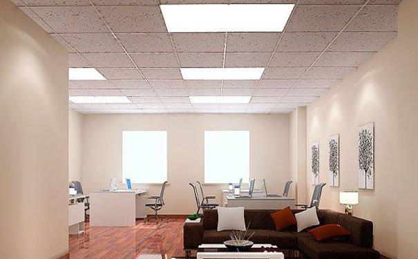 小型办公室装修吊顶效果图